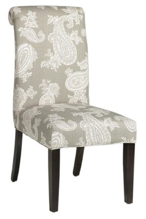 Roll back parsons dining chair