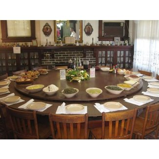 Large Round Dining Table Seats 10 Foter