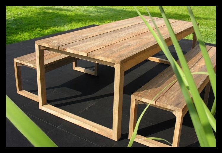 Charmant Rustic Teak Outdoor Furniture