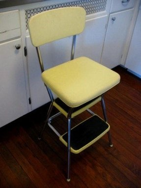 Chrome Step Stool Foter