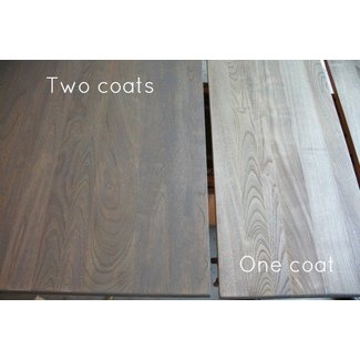 Weathered oak wood furniture