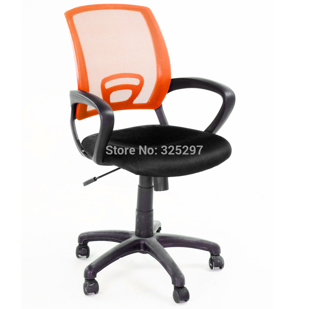 Color Furniture Modern Fashion Design Office/computer Chair Nylon Base With  Dual Wheel Carpet