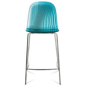 Domitalia Playa-Sgb Stool in Translucent Blue