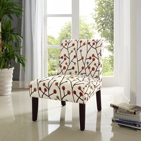 Dorel Asia Teagan Armless Accent Chair