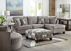 sectional with org x elliot fabric glif sofa microfiber