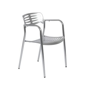 Helen Stacking Chair; Cast Aluminum SET OF 4