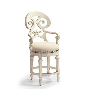Enjoyable Antique White Swivel Bar Stool Ideas On Foter Bralicious Painted Fabric Chair Ideas Braliciousco