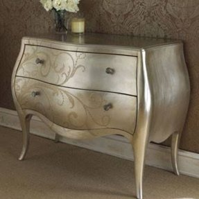 silver painted furniture. Metallic Painted Furniture Silver -