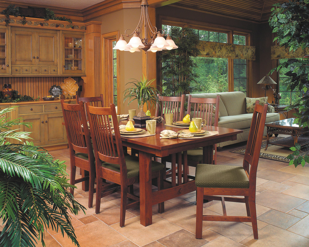 Mission Dining Room Chair Walnut Mission Style Cherry Dining Furniture