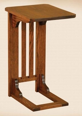 Oak Mission Sofa Table