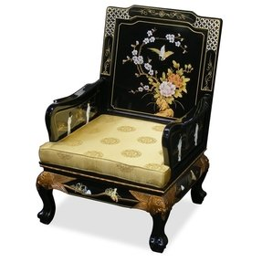 Oriental Style Grand Imperial Sofa Arm Chair
