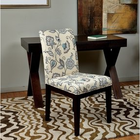 Floral Upholstered Accent Chair Foter