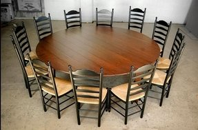 Round Dining Table For 12 People