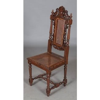 Set Of Six French Antique Dining Chairs