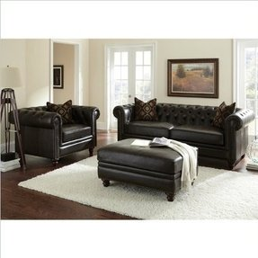 Chesterfield Leather Arm Chair Foter