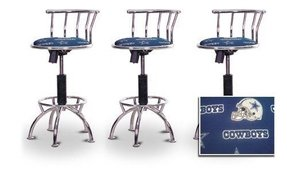 "3 24""-29"" Betty Boop Fabric Seat Chrome Adjustable Specialty / Custom Barstools Set"