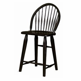 Astounding Black Windsor Bar Stools Ideas On Foter Ocoug Best Dining Table And Chair Ideas Images Ocougorg
