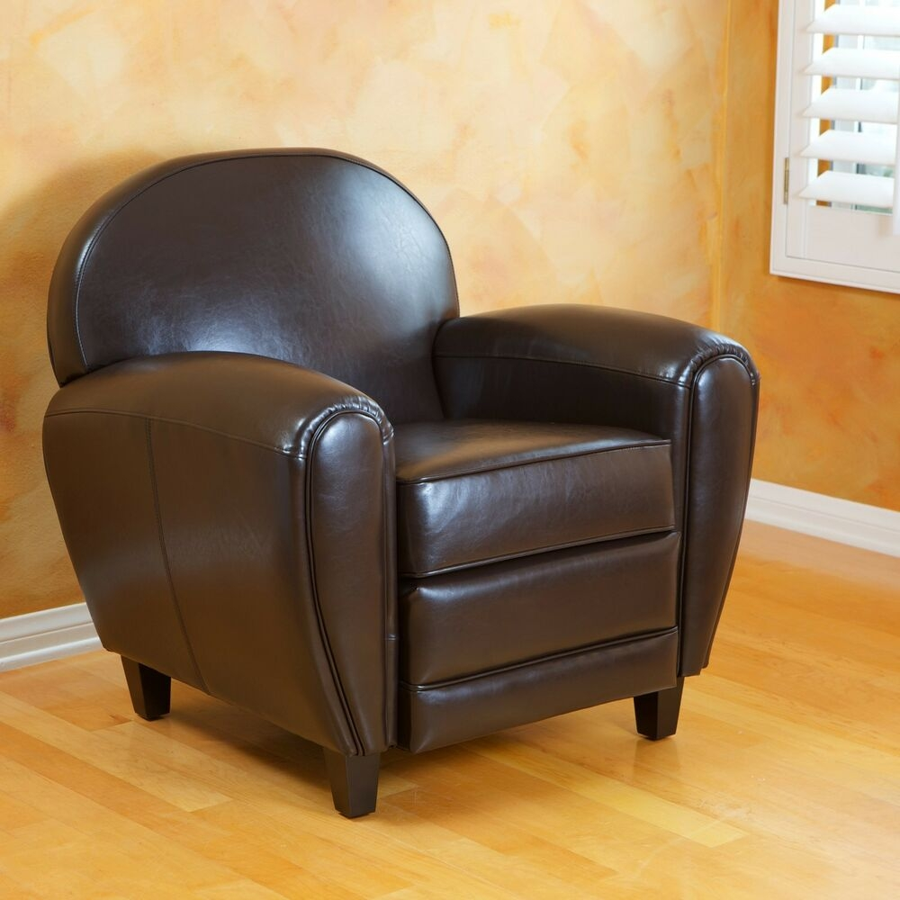 BEST David Brown Leather Club Chair