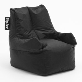 Big Joe Club 19 Bean Bag Chair Color: Stretch Limo Black