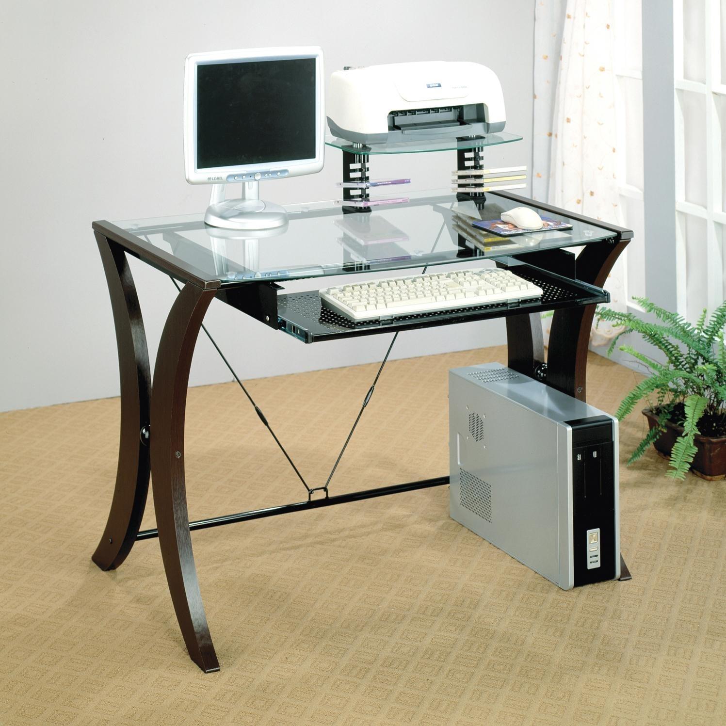 office desk glass top ideas on foter