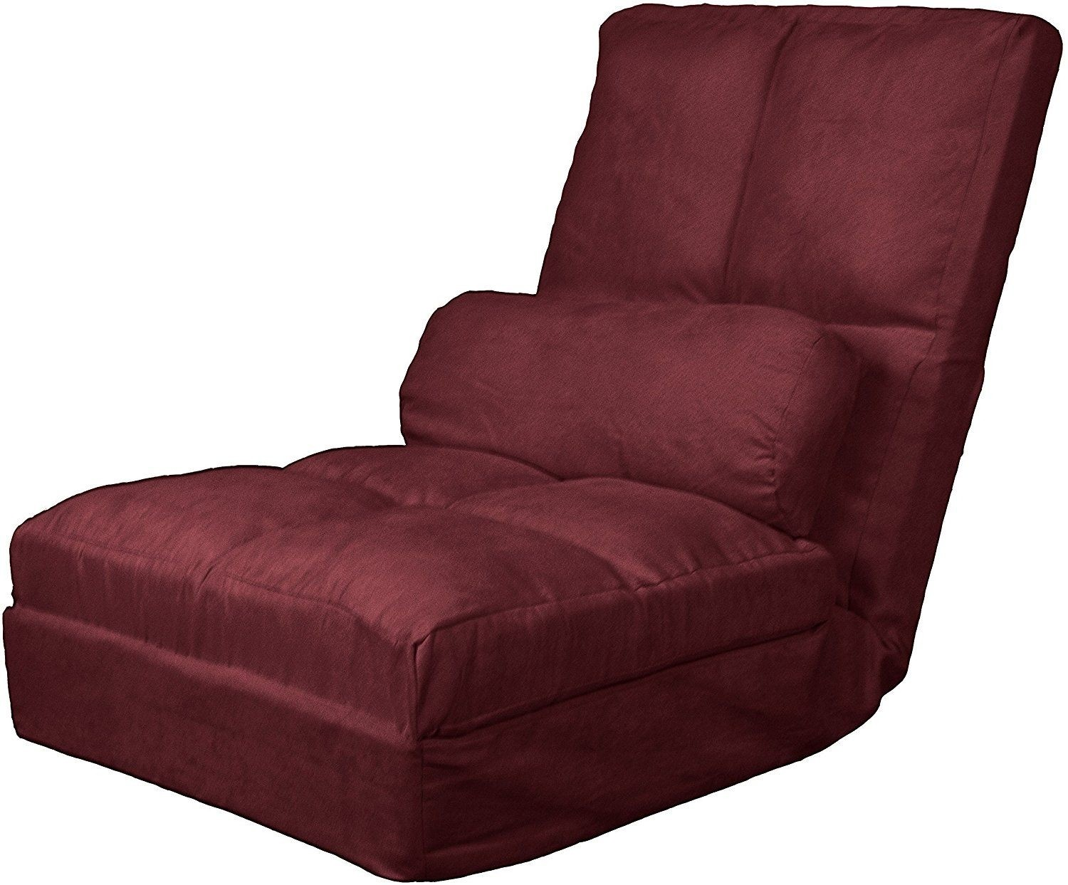 epic furnishings cosmo click clack convertible futon pillow top flip chair sleeper bed olive futon chairs   foter  rh   foter