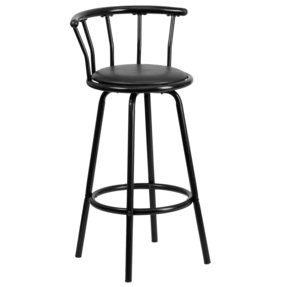 Fresh Bar Stools Metal and Leather