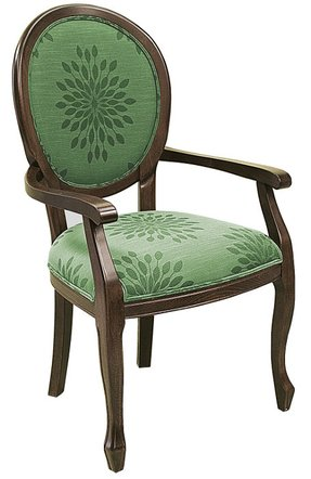Green Upholstered Arm Chairs - Foter