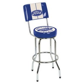 Ford Genuine Parts Stool with Backrest