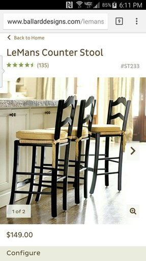 LeMans Counter Stool - Ballard Designs