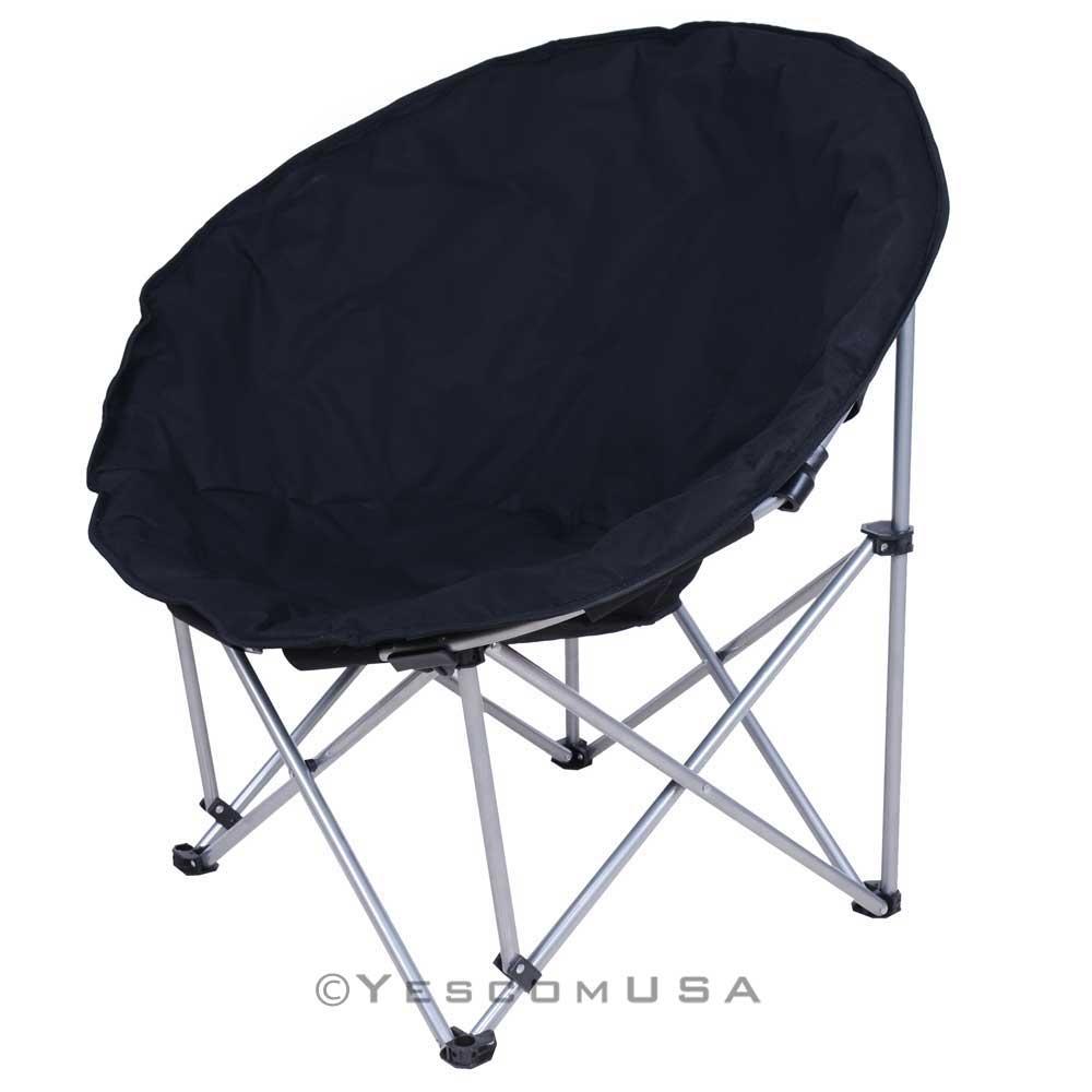 Oversize Folding Black Moon Chair Good Ideas