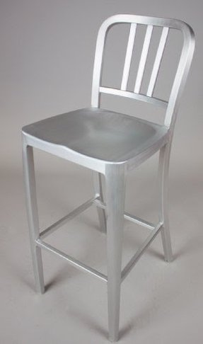 Aluminum Brushed Bar Stools Ideas On Foter