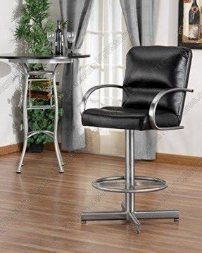 Tempo Dallas Swivel Bar Stool With Arms - MADE IN USA