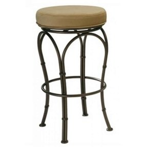 "Tempo Julie Swivel 30"" Backless Bar Stools"