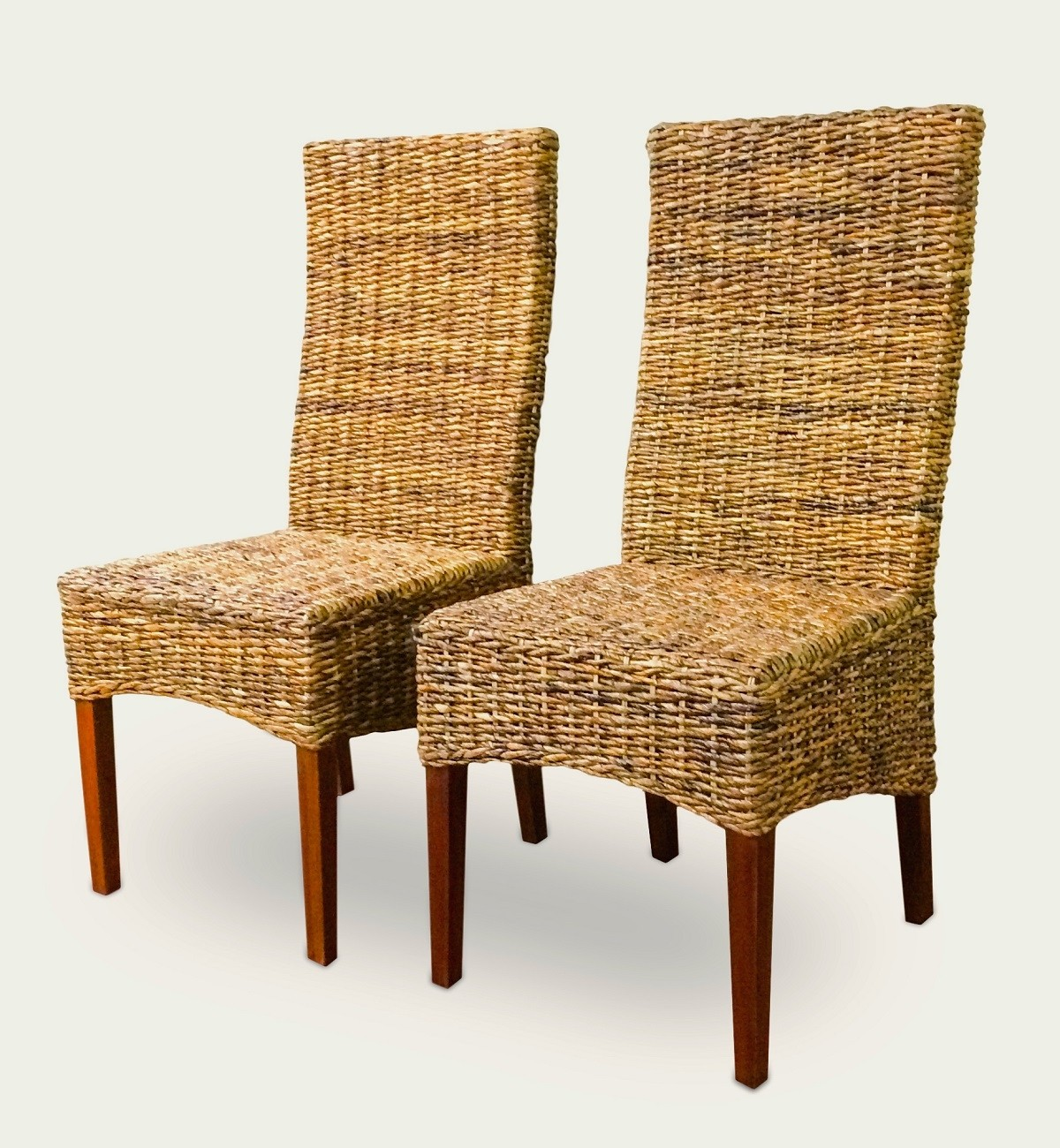 Superbe Two Paris Seagrass Dining Chair