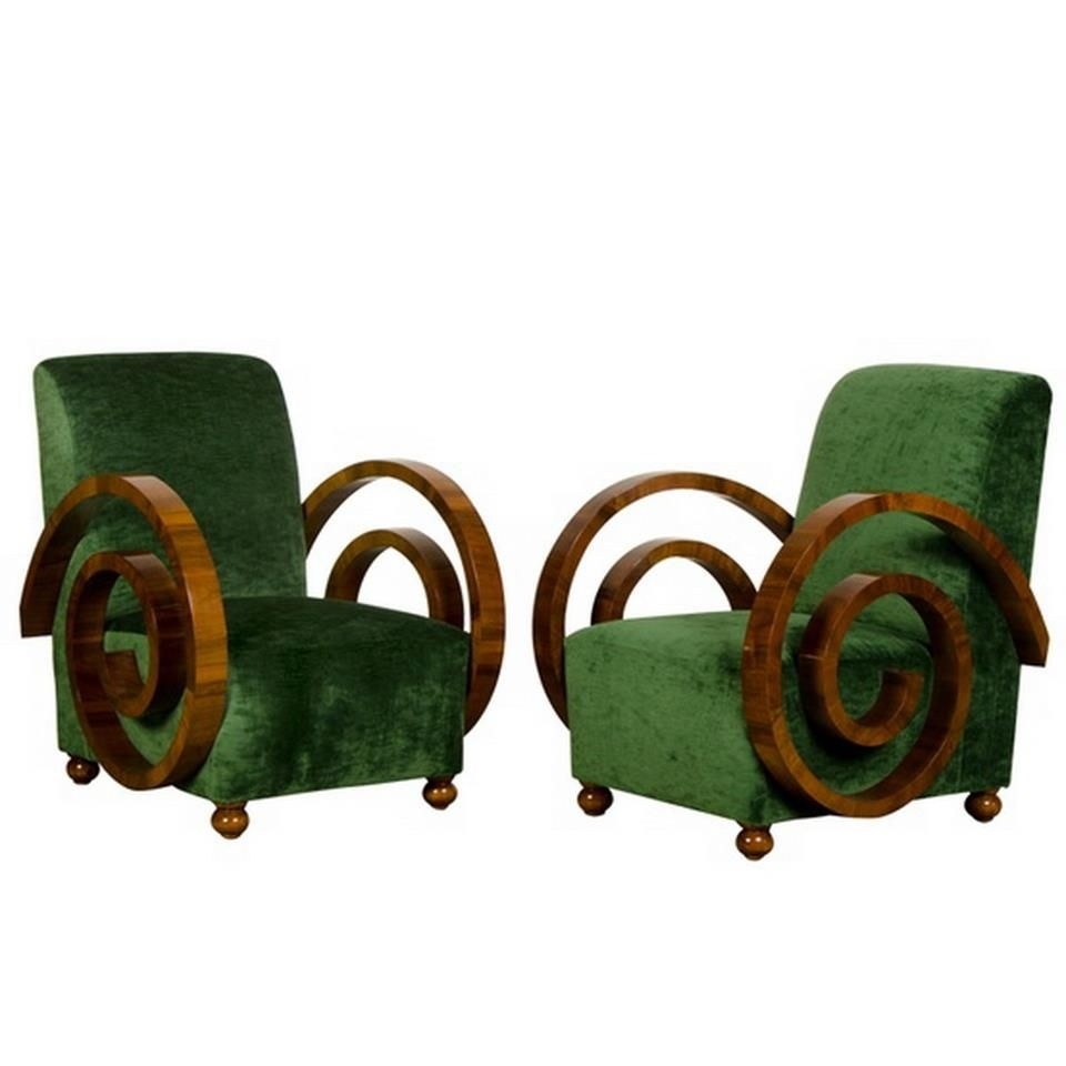 Attrayant Art Deco Chairs