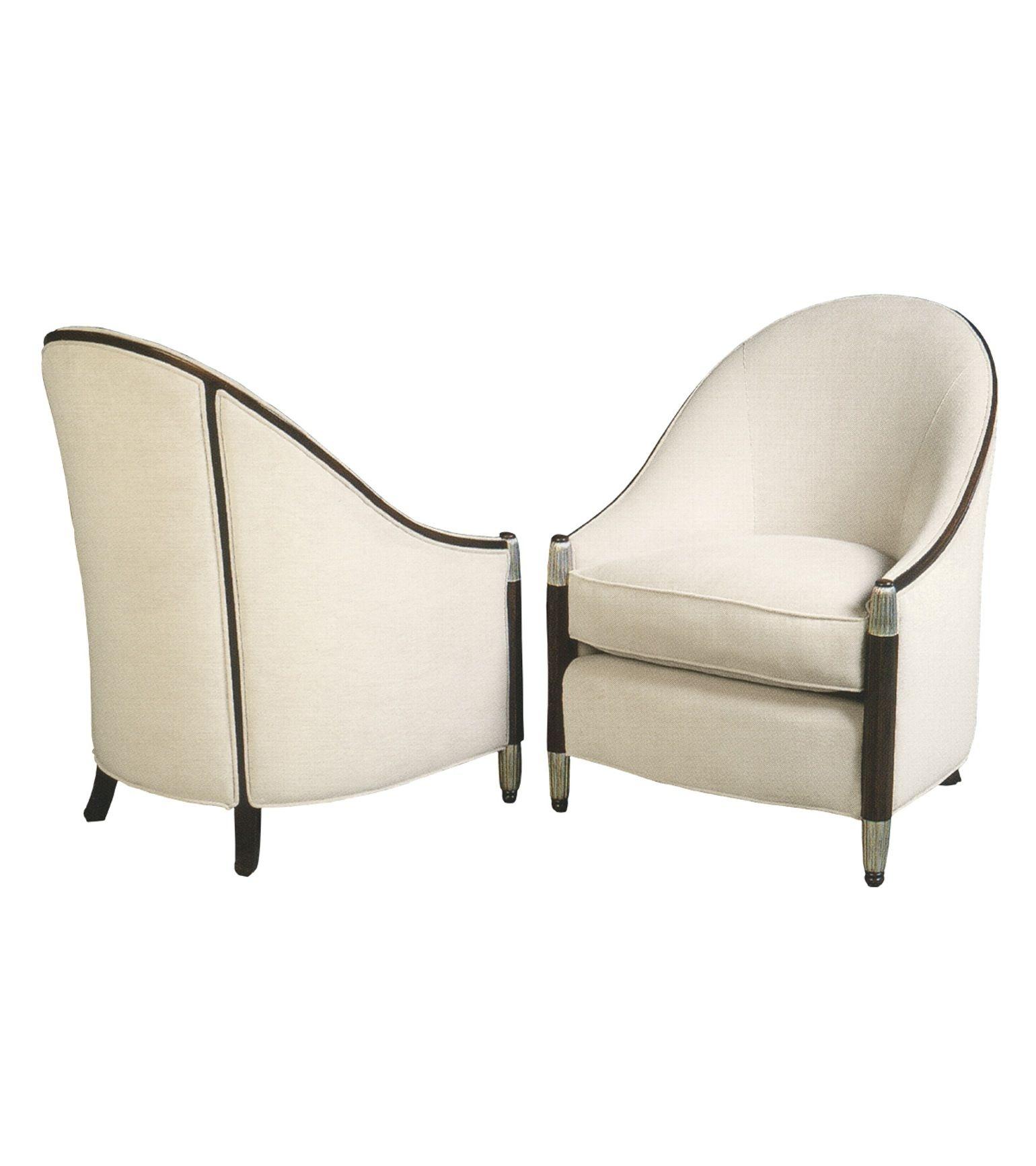 Good Art Deco Lounge Chair