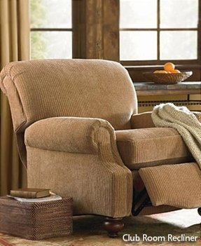 Bassett leather recliner