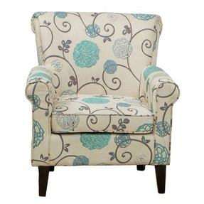 Bedroom boost furniture linens decor flowered chair