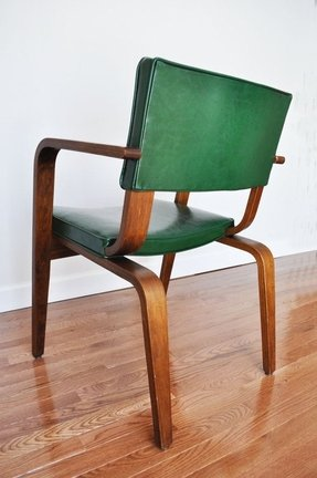Set Of 2 Vintage Bentwood Armchairs H 269 By Jindrich Halabala