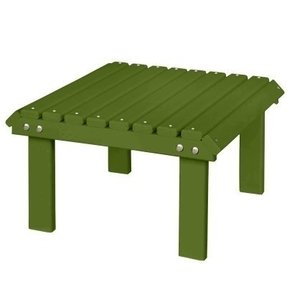 Berlin Gardens Stationary Footstool - Kiwi Green