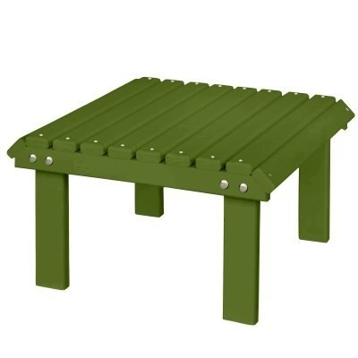 Berlin Gardens Stationary Footstool   Kiwi Green