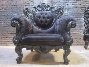 Bespoke designer living room gothic armchair can be used as