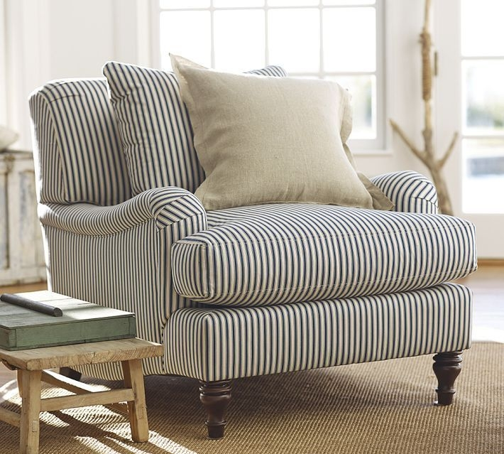 Carlisle upholstered armchair 17 & Striped Armchairs - Foter