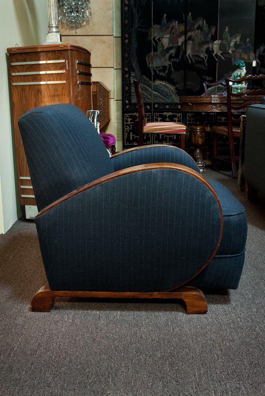 Club Chair 1930s Vintage Art Deco Chair