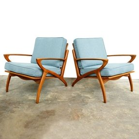 Danish armchairs 1