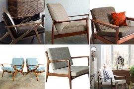High Quality Danish Armchairs