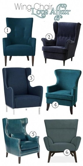 Velvet Wingback Chair Foter