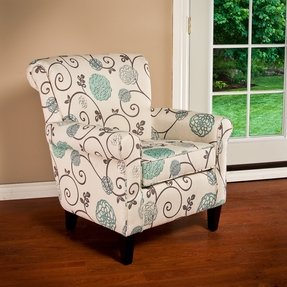 Floral accent chairs 2