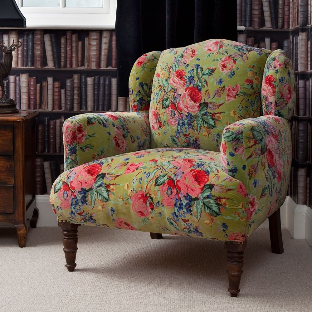 Floral armchairs 1 & Floral Armchairs - Ideas on Foter