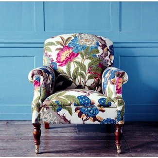 Brilliant Floral Armchairs Ideas On Foter Unemploymentrelief Wooden Chair Designs For Living Room Unemploymentrelieforg